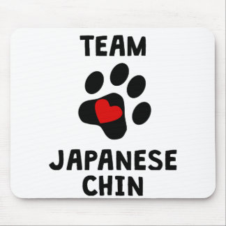 Team Japanese Chin Mouse Pad