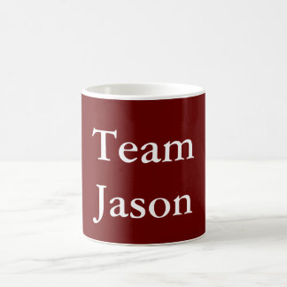 Team Jason Coffee Mug