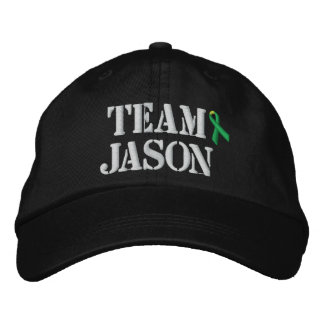 Team Jason Hat Embroidered Hats