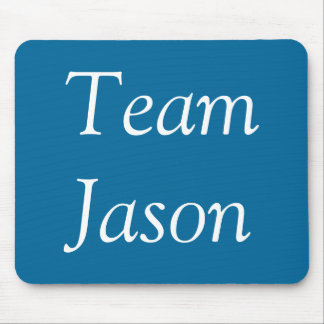 Team Jason Mouse Mat
