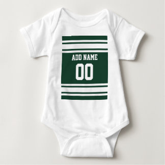 Team Jersey with Custom Name and Number Baby Bodysuit