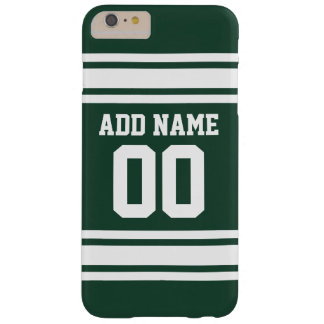 Team Jersey with Custom Name and Number Barely There iPhone 6 Plus Case