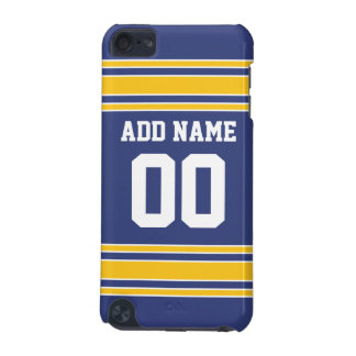 Team Jersey with Custom Name and Number iPod Touch 5G Cases