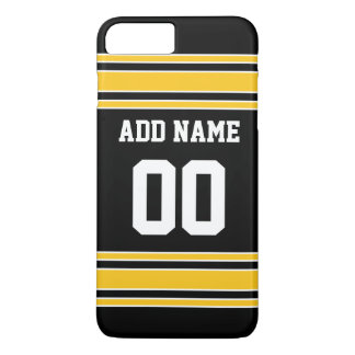 Team Jersey with Custom Name and Number iPhone 7 Plus Case