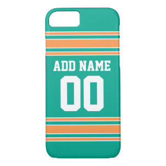 Team Jersey with Custom Name and Number iPhone 8/7 Case