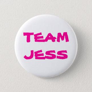 Team Jess 6 Cm Round Badge