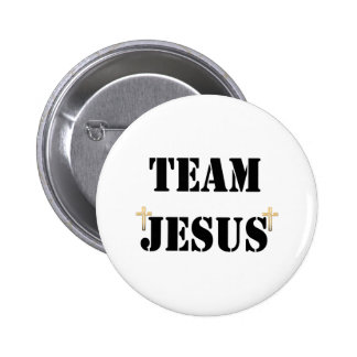 Team Jesus 6 Cm Round Badge