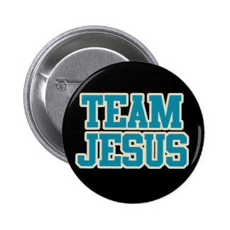 Team Jesus 6 Cm Round Badge