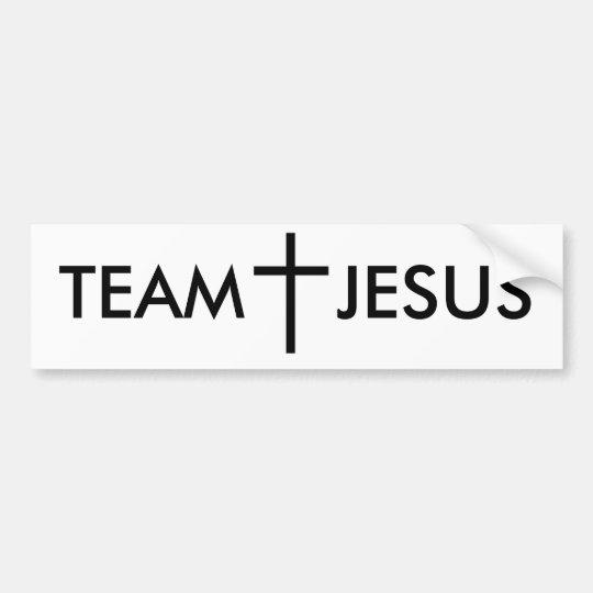 TEAM JESUS BUMPER STICKER