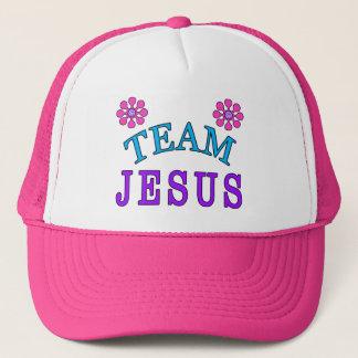 Team Jesus Christian Flat Bill Hats