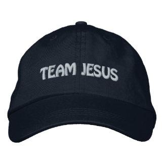 Team Jesus Embroidered Baseball Cap