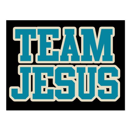 Team Jesus Postcard