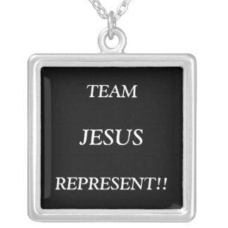 TEAM JESUS RELIGIOUS NECKLACE