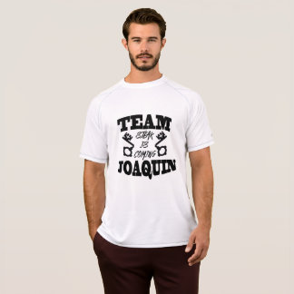 Team Joaquin: Steak Is Coming Men's White T-Shirt
