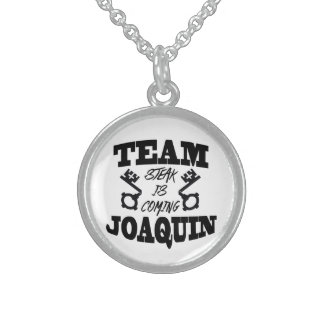 Team Joaquin: Steak is Coming Necklace