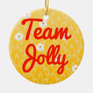 Team Jolly Christmas Tree Ornament