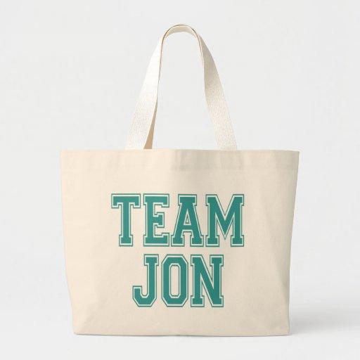 Team Jon Canvas Bag
