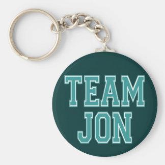 Team Jon Keychains