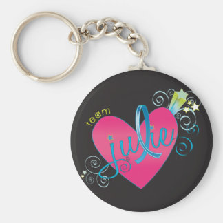 Team Julie for the win! Basic Round Button Key Ring