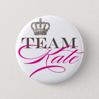 Team Kate | The Royal Wedding 6 Cm Round Badge