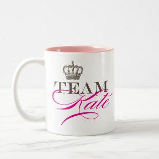 Team Kate | The Royal Wedding Two-Tone Coffee Mug