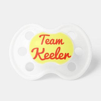 Team Keeler Baby Pacifiers
