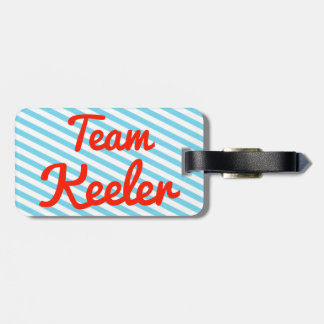 Team Keeler Bag Tags