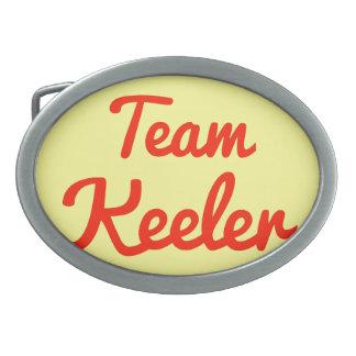 Team Keeler Belt Buckles