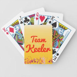 Team Keeler Bicycle Playing Cards