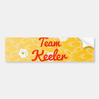 Team Keeler Bumper Sticker