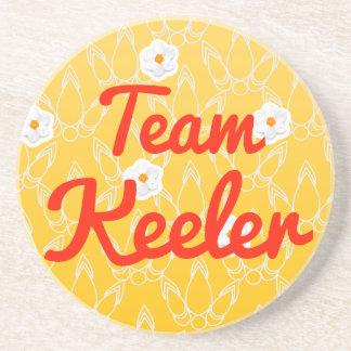 Team Keeler Beverage Coaster