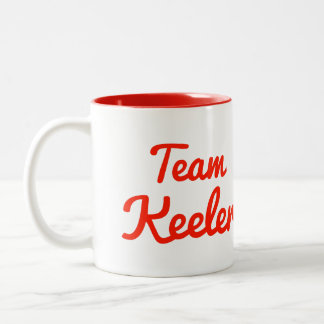 Team Keeler Coffee Mugs