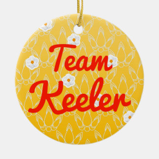 Team Keeler Ornament