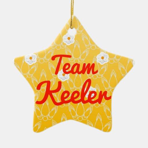 Team Keeler Christmas Ornament