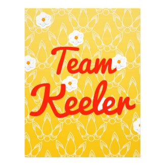 Team Keeler Custom Flyer