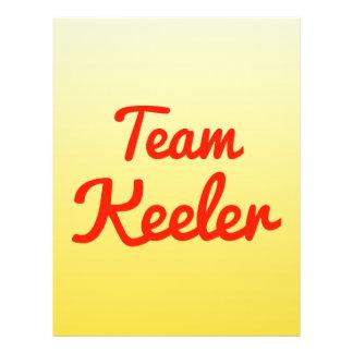 Team Keeler Full Color Flyer