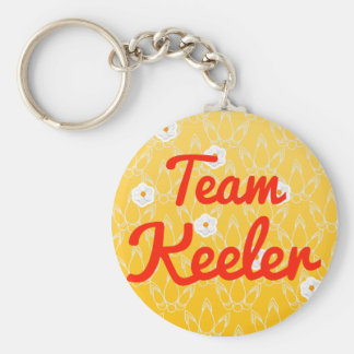 Team Keeler Key Chains