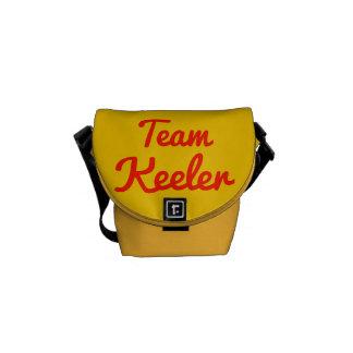 Team Keeler Messenger Bags