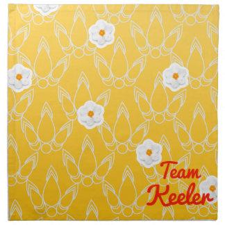 Team Keeler Printed Napkins