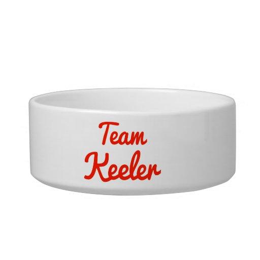 Team Keeler Pet Food Bowl