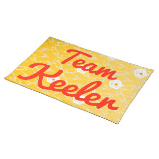 Team Keeler Placemat