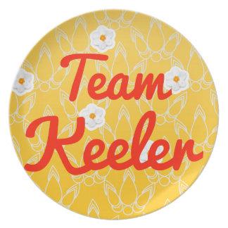 Team Keeler Dinner Plate