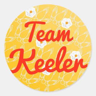 Team Keeler Stickers
