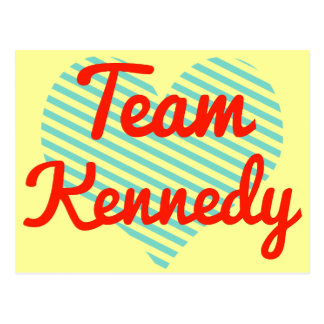 Team Kennedy Postcard