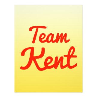 Team Kent 21.5 Cm X 28 Cm Flyer