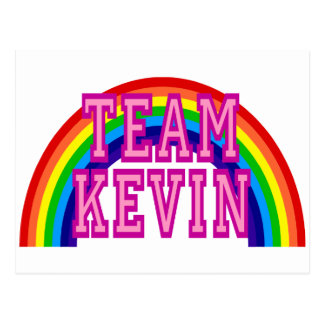 Team Kevin Postcard