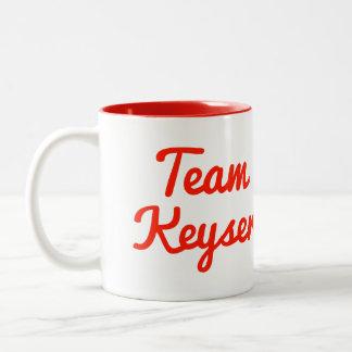 Team Keyser Two-Tone Mug