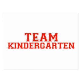 Team Kindergarten Postcard