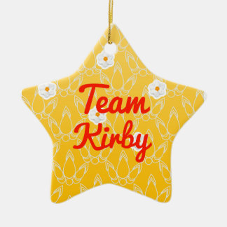 Team Kirby Christmas Ornament