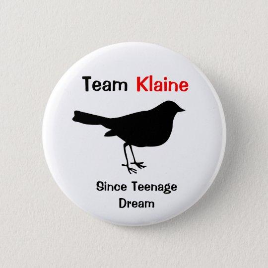 Team Klaine 6 Cm Round Badge